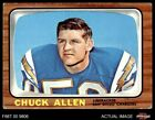 1966 Topps #118 Chuck Allen Chargers VG/EX $5.0 USD