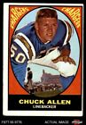 1967 Topps #129 Chuck Allen Chargers EX $5.0 USD