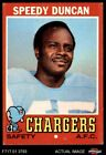 1971 Topps #148 Speedy Duncan Chargers VG/EX $0.99 USD on eBay