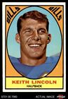 1967 Topps #15 Keith Lincoln Bills NM $18.5 USD