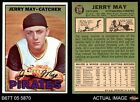 1967 Topps #379 Jerry May Pirates NM