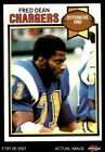1979 Topps #152 Fred Dean Chargers EX/MT $2.6 USD