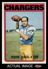 1972 Topps #15 John Hadl Chargers NM $10.0 USD
