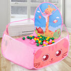 Foldable Funny Ocean Ball Pit Pool Tent Kids Play Set Toy Novelty Animal Pattern