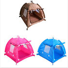 travel outdoor Folding large Dog Pet portable Crate Cage tent House Bed