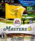 Tiger Woods PGA TOUR 12 The Masters Playstation 3 Brand New Factory Sealed