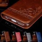Luxury Leather Flip Card Wallet Phone Case Cover Stand for iPhone 8 7 6 6S Plus