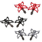 Mountain Bike MTB BMX Bicycle Alloy Flat Platform 3 Bearing Pedals 9 16 in