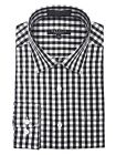 Marquis Men's Gingham Checkered Long Sleeve Modern Fit Shirt $24.99 USD on eBay