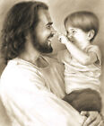 Innocence Jesus Christ Boy Print Picture by David Bowman Religious Spiritual Art