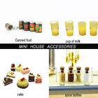 Cute Fruit Canned Spice bottles cake Dollhouse Miniature Food Doll Accessories $0.99 USD on eBay