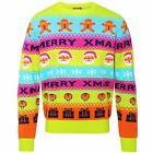 Adults Loud/Bright/Colourful/Neon Christmas Jumper. Novelty Festive Wear - CS035
