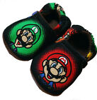 New Mario Luigi Baby Crib Shoes Booties Slippers 0- 24 M Gift 3T-5T