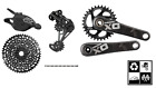 SRAM GX Eagle 12-speed drivetrain kit 6-peice w/ X01 carbon crank 175mm GXP & BB