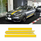 AMG Edition 1 for Mercedes Benz W205 Coupe C Class C63 YELLOW Decal Stickers
