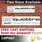 Audi Quattro Vorsprung durch Technik Banner, for Workshop, Garage, Man cave