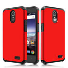 Cases Covers Skins - For ZTE Maven 3 Z835 Phone Case Shockproof Hybrid Rubber Hard Impact Slim Cover