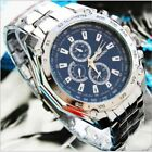 Mens Watches Quartz Stainless Steel Analog Sports New Wrist Watch #UK