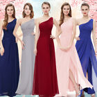 Ever-Pretty Long Bridesmaid Dress One Shoulder Evening Cocktail Prom Gown 09905
