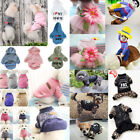 Fashion Pets Dog Cat Clothes Puppy Sweater Hoodie Jacket Cowboy Costume Dress
