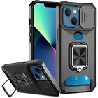 Black Rubberized Heavy Duty Shockproof Armourbox Cover Case For iPhone 8 7 6-Man