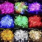 10M 100 LED Christmas Tree Fairy String Party Lights Strip Lamp Xmas Waterproof