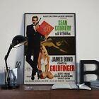 James Bond 007 Goldfinger Sean Connery Foreign Film Poster Print Picture A3 A4 £7.9 GBP on eBay