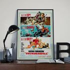 Vintage 007 James Bond Thunderball Connery Movie Film Poster Print Picture A3 A4 £7.9 GBP
