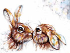 Print or Greeting Card Watercolour Print by Artist Be Coventry wildlife Art