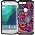 Slim Hybrid Armor Case Dual Layer Phone Cover for Google Pixel XL (2016)