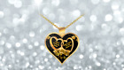 To My Loving Wife Heart Gold Plated Necklace