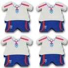 Football Erasers, England Shirt Football Rubbers, Party Bag Fillers,  Any Qty