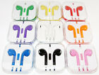 Lot of 8 Earbuds Earphone Headset With Mic For Apple iPhone 5 iPhone 6 6s iPod