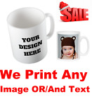 Personalised Mug for christmas, Print Any image text photo perfect Gift <br/> Uk Seller* Fast Dispatch*Free Delivery on any order
