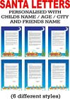 PERSONALISED The Day You Were  Born / Birthday A4 GLOSSY Certificate SCROLL