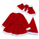Children Baby Kids Xmas Red A-line Mini Cute Party Formal Dres Costume