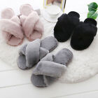 Fashion Winter Women Lady Warm plush Cotton Slippers Home House Shoes Flattie