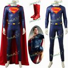 Justice League Superman Clark Kent Cosplay Clothing Comic Com Costume Customize