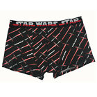 Mens Star Wars (Sz L) Boxer Shorts Red Black