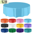10/20 Pack Round Plastic Table Cover Cloth Table Covers Party Wedding Favors 84�