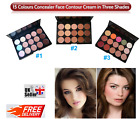Concealer Palette Foundation Contouring Cream, 3 Shades 15 Colours Face Make up