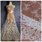 Restock New off white Polyester heavy lace fabric 51'' width