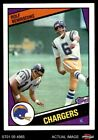 1984 Topps #175 Rolf Benirschke Chargers NM/MT $1.65 USD