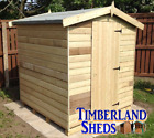 6x4 FACTORY SECOND Apex Shed Windows Optional T&G Tanalised Treated Storage Hut
