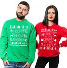 Christmas Couple Matching Sweaters Ugly Christmas Sweater Contest Christmas Gift