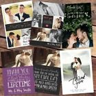 Photo WEDDING Thank You Cards (Postcards) Personalised Fast Post 30 40 50