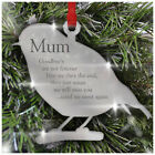 Robin Personalised Christmas Loving Memory Xmas Gifts Decoration Bauble Mum Dad