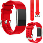 For Fitbit Charge 2 Replacement Silicone Rubber Band Strap Wristband Bracelet US