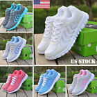 Women Athletic Walking Sneakers Breathable Tennis Trainner Road Running Shoes
