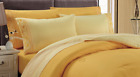 6 Piece Chakras Energetic Embroidered Cotton Blend Sheet Set - Yellow / Gold image